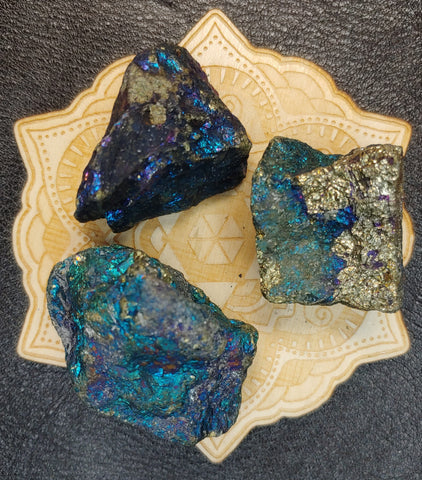 Chalcopyrite Peacock Rock Copper Ore