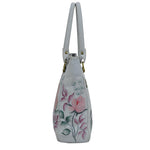 Anuschka Tall Tote Handbag With Double Handle Style 609
