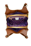 Anuschka Triple Compartment Large Satchel Style 652