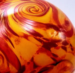 Fire in the Sky Local Handblown Art Glass Floats