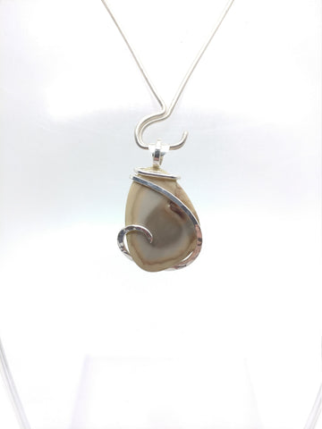 Psychedelic Pond Royal Imperial Jasper Pendant in Sterling Silver