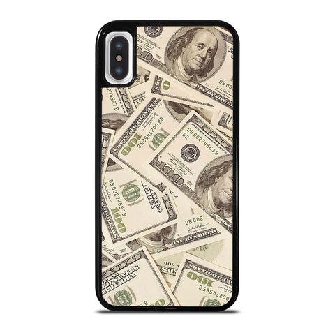 $100 DOLLAR BILL MONEY iPhone X / XS Case