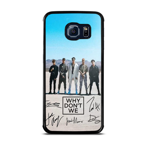 WHY DON'T WE SIGNATURE Samsung Galaxy S6 Edge Case
