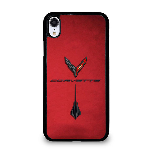 CORVETTE STINGRAY C8 LOGO #3 iPhone XR Case