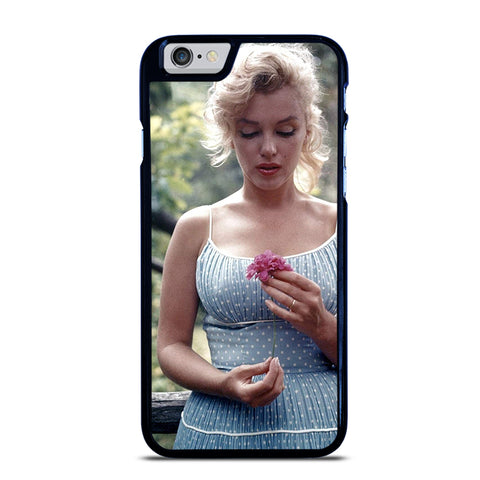 MARILYN MONROE INNOCENT FLOWER iPhone 6 / 6S Case