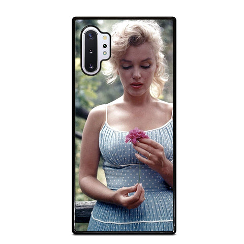 MARILYN MONROE INNOCENT FLOWER Samsung Galaxy Note 10 Plus Case