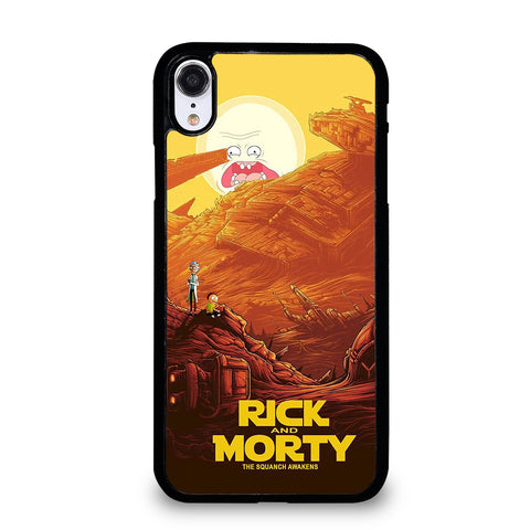ANIMATION RICK AND MORTY 4 iPhone XR Case