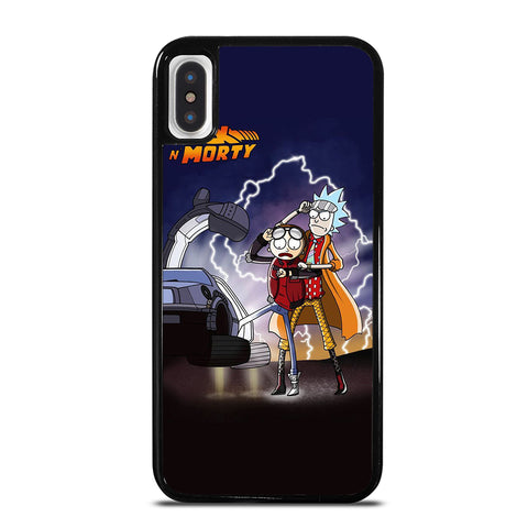ANIMATION RICK AND MORTY iPhone X / XS Case