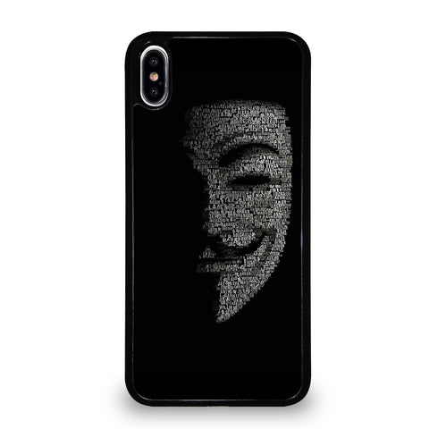 ANONYMOUS iPhone XS Max Case