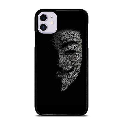 ANONYMOUS iPhone 11 Case