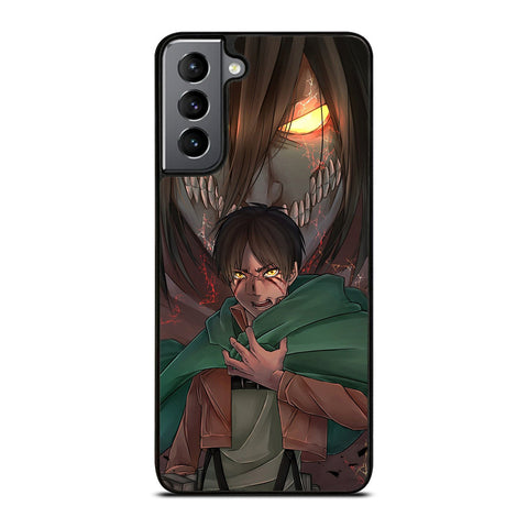 ATTACK ON TITAN 1 Samsung Galaxy S21 Plus Case