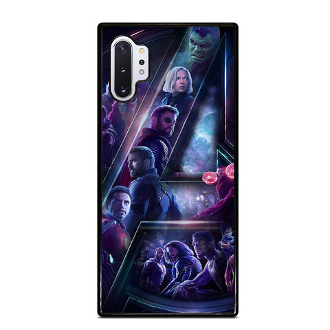 AVENGERS INFINITY WAR 4 Samsung Note 10 Plus Case