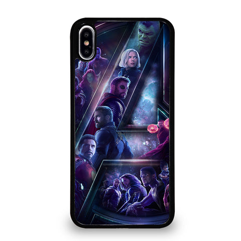 AVENGERS INFINITY WAR 4 iPhone XS Max Case
