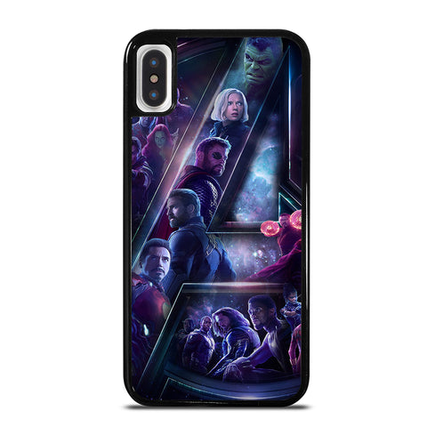 AVENGERS INFINITY WAR 4 iPhone X / XS Case