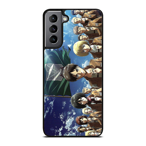 Armin Arlert Scouting Legion Attack On Titan 4 Samsung Galaxy S21 Plus Case