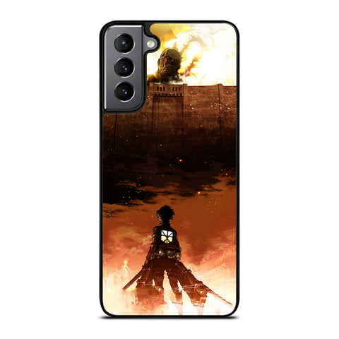 Attack On Titan Season 4 - 3 Samsung Galaxy S21 Plus Case