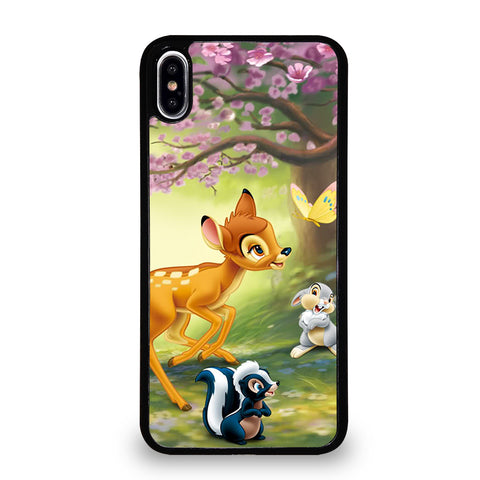 BAMBI DEER FRIENDS iPhone XS Max Case