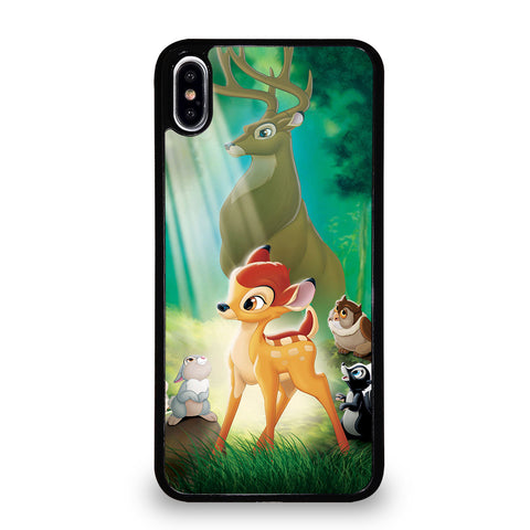 BAMBI DEER FRIENDS 2 iPhone XS Max Case