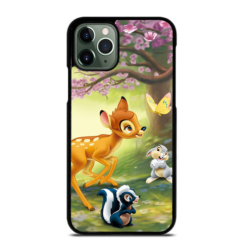 BAMBI DEER FRIENDS iPhone 11 Pro Max Case