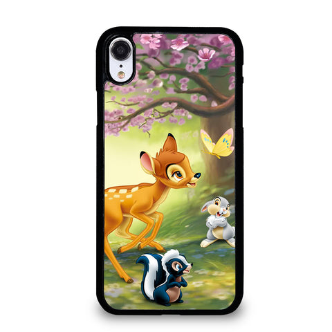 BAMBI DEER FRIENDS iPhone XR Case