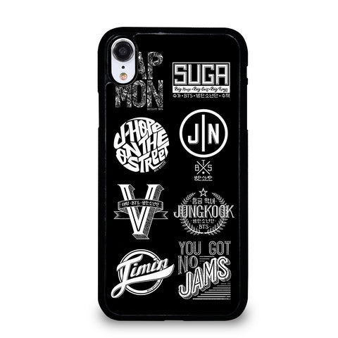 BANGTAN BOYS BTS KPOP LOGO iPhone XR Case
