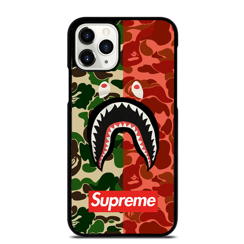 BAPE SHARK Camo iPhone 11 Pro Case