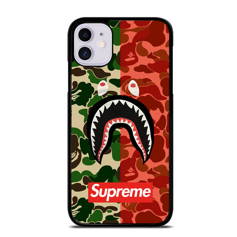 BAPE SHARK Camo iPhone 11 Case