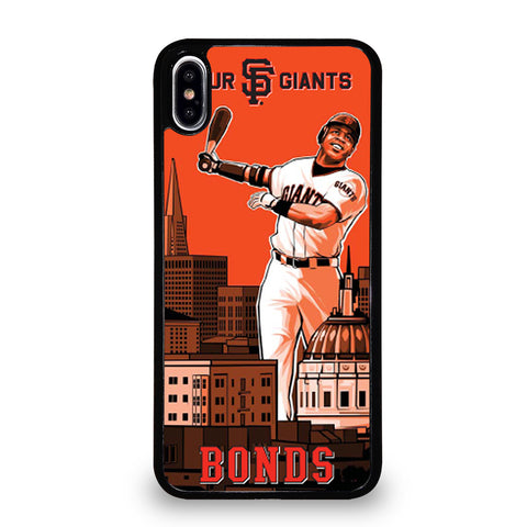 BARRY BONDS GIANTS iPhone XS Max Case