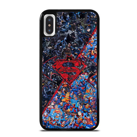 BATMAN VS SUPERMAN iPhone X / XS Case
