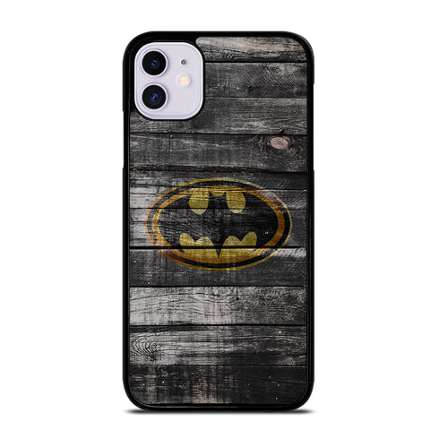 BATMAN WOOD LOGO 2 iPhone 11 Case