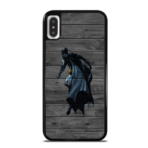 BATMAN WOOD LOGO 3 iPhone X / XS Case