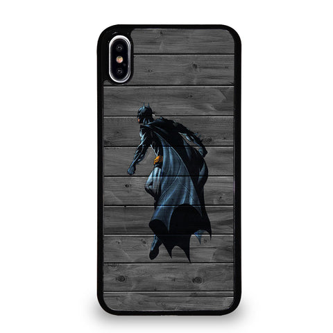 BATMAN WOOD LOGO 3 iPhone XS Max Case