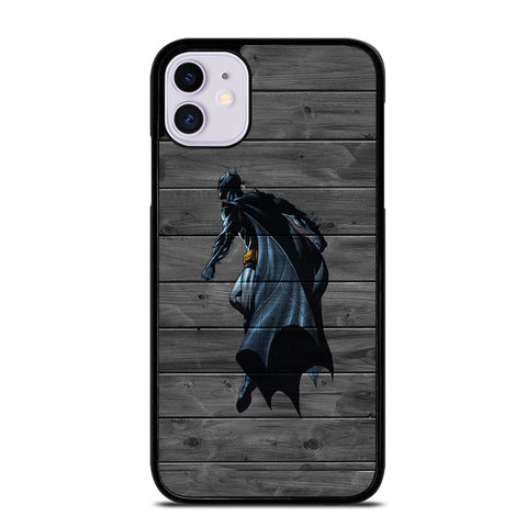 BATMAN WOOD LOGO 3 iPhone 11 Case