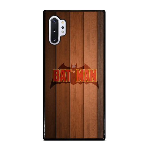 BATMAN WOOD LOGO 4 Samsung Note 10 Plus Case