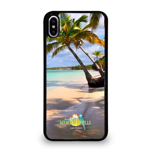 BEACH JIMMY BUFFETS MARGARITAVILLE 1 iPhone XS Max Case