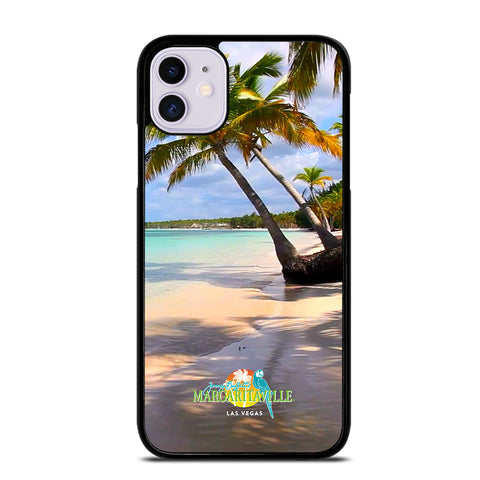 BEACH JIMMY BUFFETS MARGARITAVILLE 1 iPhone 11 Case