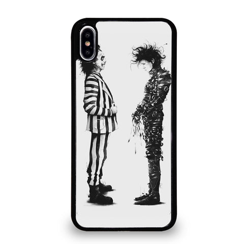 BEETLEJUICE VS EDWARD SCISSORHANDS iPhone XS Max Case