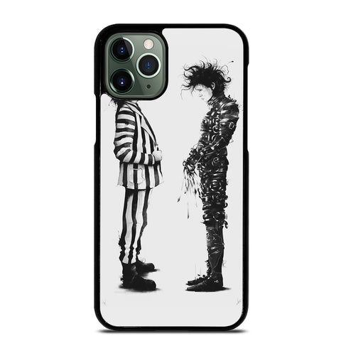 BEETLEJUICE VS EDWARD SCISSORHANDS iPhone 11 Pro Max Case
