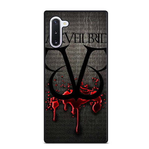 BLACK VEIL BRIDES ANDY ANGEL 2 Samsung Note 10 Case