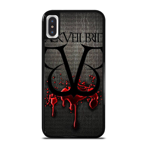 BLACK VEIL BRIDES ANDY ANGEL 2 iPhone X / XS Case