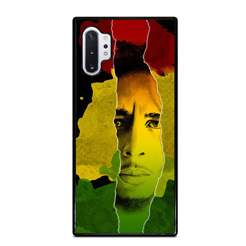 BOB MARLEY RASTA FACE Samsung Note 10 Plus Case