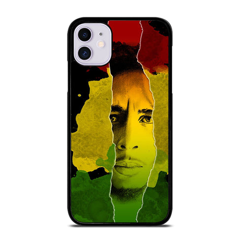 BOB MARLEY RASTA FACE iPhone 11 Case