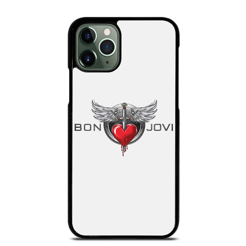 BON JOVI MUSIC ROCK LOGO 2 iPhone 11 Pro Max Case