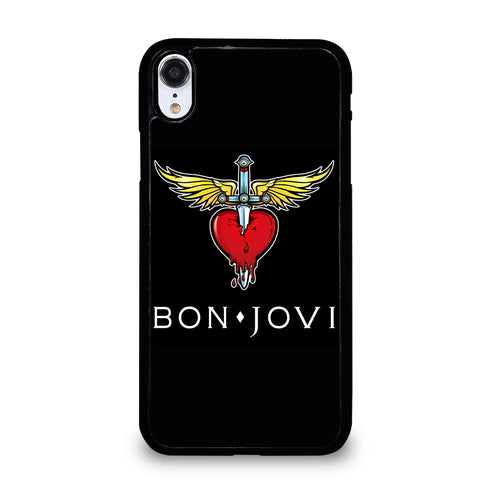 BON JOVI MUSIC ROCK LOGO iPhone XR Case