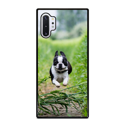 BOSTON TERRIER DOG BREED 2 Samsung Note 10 Plus Case
