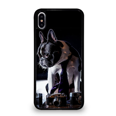 BOSTON TERRIER DOG BREED iPhone XS Max Case