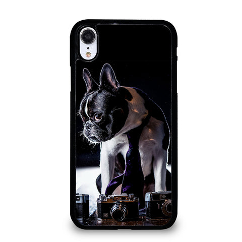 BOSTON TERRIER DOG BREED iPhone XR Case