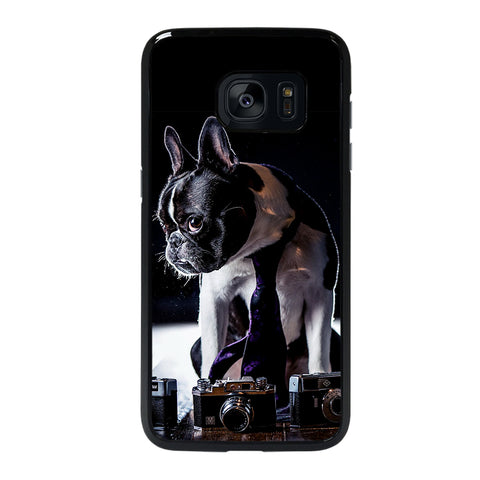 BOSTON TERRIER DOG BREED Samsung S7 Edge Case