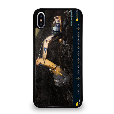 CAT ESCAVATOR iPhone XS Max Case