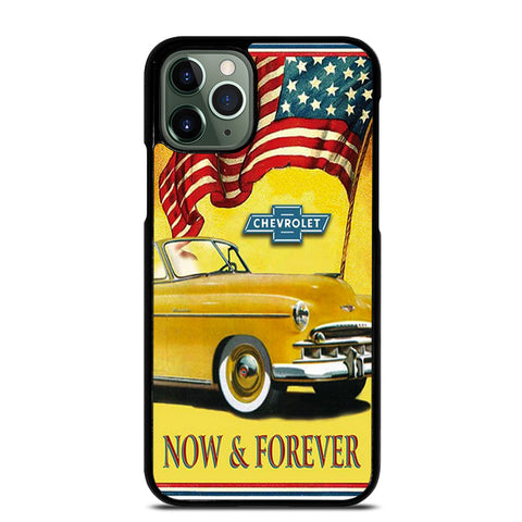 CHEVY RETRO CAR POSTER 3 iPhone 11 Pro Max Case